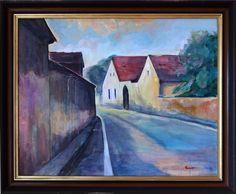 Ladislav Majoroši - V juž. Čechách, akryl na plátne, 60 x 76 cm, 2002