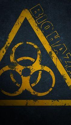 Rockabilly Zombie Wallpaper Biohazard Symbol Hd Wa...