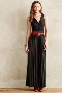 maxi dress knot the bottom feet