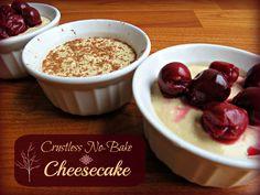 Crustless No-Bake Cheesecake   The Coconut Mama