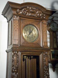 Image detail for -1900 German Grandfather Clock | JP Clocks