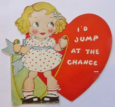 JUMP AT THE CHANCE VALENTINE