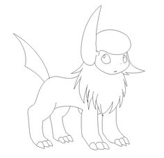 You Have To Ask Permission Use It And Wait Till I Respond Credit Me Send The Link When Your Done Thank Absol Lineart