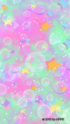 Ideas Wall Paper Ipad Glitter Heart For 2019 Bubbles Wallpaper, Rainbow Wallpaper, Star Wallpaper, Glitter Wallpaper, Kawaii Wallpaper, Cute Wallpaper Backgrounds, Pretty Wallpapers, Cellphone Wallpaper, Colorful Wallpaper