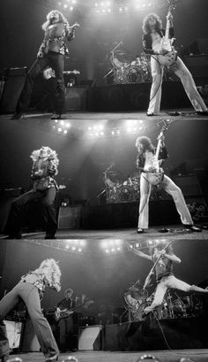 Page and Plant - Led Zeppelin 1975 Great Bands, Cool Bands, Led Zeppelin Live, Robert Plant Led Zeppelin, John Paul Jones, John Bonham, Greatest Rock Bands, Stevie Ray, Jimmy Page