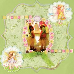 Paper Wishes® Weekly Webisodes, Scrapbooking Videos, silver sparkle holographic paper, hunkydory Fairy sweethearts kit.