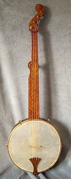 Bell Boucher Single Ogee Minstrel Banjo Open Back Clawhammer Civil War Fretless | eBay
