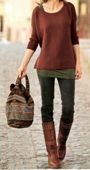 Stitchfix Perfect fall outfit minus the bag