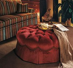 Momento Ottoman from the Henredon Upholstery collection by Henredon Furniture