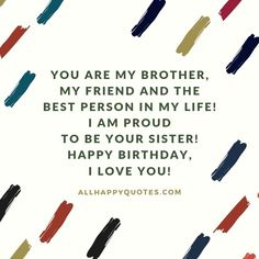 Birthday Wishes for Brother: try our tested surprise ideas and gift ideas now and send birthday wishes for brother, brother-in-law, younger brother and Birthday Wishes For Brother, Happy Birthday Wishes, Cute Birthday Pictures, Fly Repellant, Beard No Mustache, Creative Thinking, Be A Better Person, Thing 1 Thing 2, Pain Relief