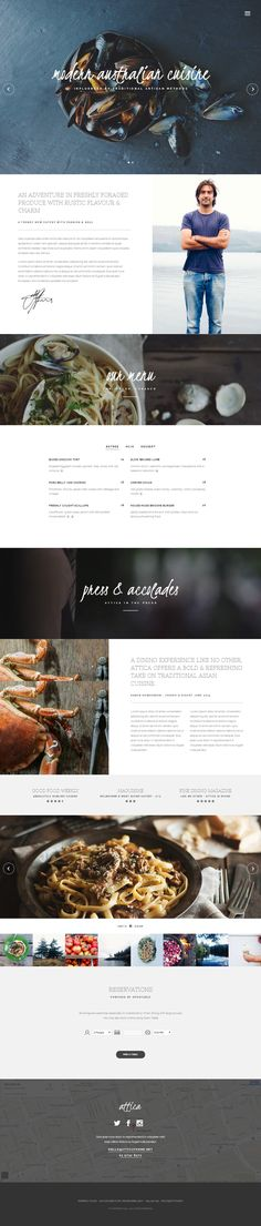 Attica is Premium full Responsive HTML5 Restaurant Template. Parallax Scrolling. One Page. Video Background. Retina Ready. http://www.responsivemiracle.com/cms/attica-premium-responsive-restaurant-html5-template/