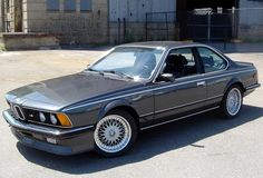 BMW 635 CSi, we had this car in this exact same color...