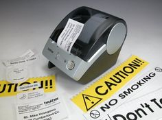 Brother P-Touch QL-500 Manual-Cut PC Label Printing System by Brother. $64.98. From the Manufacturer                Now the PC Label Printer you've always wanted is here! Introducing the easy-to-use Brother QL-500 Quick PC Label Printer that prints address and shipping labels, up to 2.4 inches wide, on easy-to-peel, die-cut paper and continuous length film labels. The Brother QL-500 also prints file folder, CD/DVD, and visitor badge labels for just pennies apiece. Plus, no ...