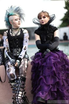 punk and neo-Victorian gothic looks from Wave Gotik Treffen 2011