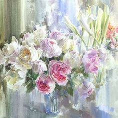 цветы натюрморты Олег Тимошин - 06