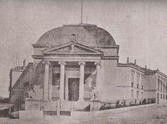 Pórtico del Museo Nacional de Antropología. Madrid, 1875