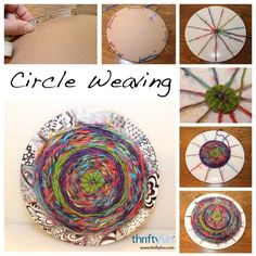 This weaving project doesn't require any special materials or skills and is fun for kids and adults alike. This is a guide about circle weaving.