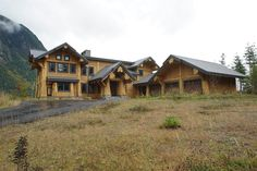 The 5,200 square foot home is located in the mountains nears North Bend, Washington.