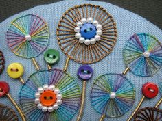 Tast week 24...BUTTONHOLE WHEELS  by Chris Richards