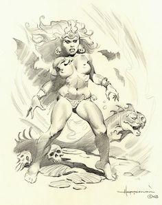 Hoffman, Mike Comic Art