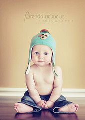 Baby boy photo- love the shirtless w/ jeans