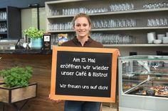 Unser Café & Bistro in Ebbs ist wieder geöffnet! Hast du gewusst das unser Café & Bistro sehr einfach mit dem Fahrrad zu erreichen ist? Gönn dir eine Pause - gönn dir Kaffee und Kuchen oder liebere ein Eis? Cafe Bistro, Pause, Letter Board, Lettering, Instagram, Videos, Simple, Ice, Trial Bike