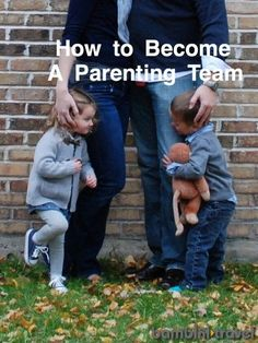 6 Essential Steps to Becoming a Parenting Team | advice from a mom and dad of 4 year old twins | Bambini Travel