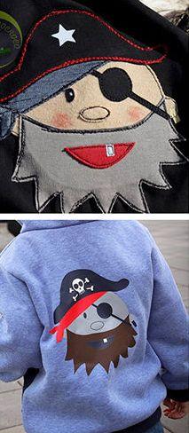 Für echte Piraten oder Kapitäne - Plotterdatei via Makerist.de