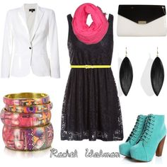 """Brights together again!"" by rachelwolman on Polyvore"