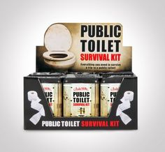 Fancy - Public Toilet Survival Kit