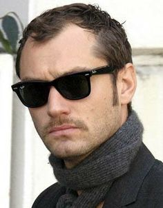 9788f7467c Jude Law and the Ray Ban Wayfarer. SportRx Sports Sunglasses