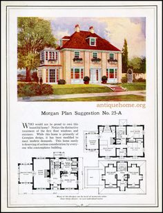 https://flic.kr/p/HPPbFt | Morgan House Plan Suggestions::Building with Assurance | Building with Assurance - 1923 www.antiquehome.org