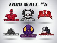 Logo Wall Numero Five by Alexandar-Obert on DeviantArt
