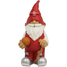 Houston Rockets NBA Garden Gnome