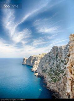 Cap de Formentor Mallorca by Pep Bernat Sànchez Moner