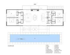 Westside Road Private Residence,Floor Plan