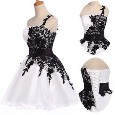 Applique~Vintage Lace Cocktail Short Masquerade Homecoming EVENING Party Dresses