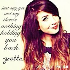 I love this quote by her. So inspirational! (Made with picLab.and aviary? Zoella Makeup, Zoella Beauty, Favorite Quotes, Best Quotes, Funny Quotes, Qoutes, Zoella Quotes, Meaningful Quotes, Inspirational Quotes