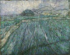 Vincent van Gogh — «Rain», 1889