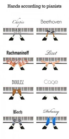 I love Boulez's hands. < Personally I would switch Rachmaninoff and Liszt I love Boulez's hands. < Personally I would switch Rachmaninoff and Liszt Piano Lessons, Music Lessons, Music Lesson Plans, Singing Lessons, Humor Musical, Choir Humor, Music Jokes, Funny Music, Band Jokes