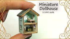 Hi guys! Today we're making this cute miniature Dollhouse ^^ It's a dollhouse for dolls basically, and scale wise it's 1:144. I made it all with simply mater...