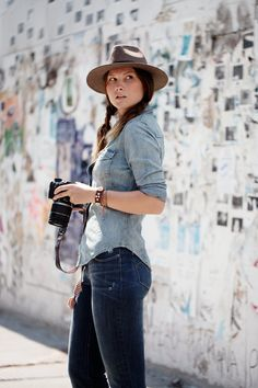Levi's® Curve ID x The Sartorialist: showcasing real women with a range of styles and curves.