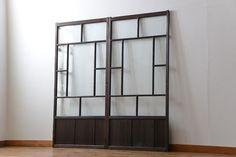 Arched Doors, Windows And Doors, Sliding Doors, Garage Door Design, Garage Doors, Garage Office, Japanese Interior, Glass Door, Art Deco