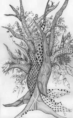 ZIA tree by Cathy Boytos, CZT