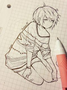 Anime sketches by tootokki Manga Drawing, Manga Art, Drawing Sketches, Anime Art, Drawing Ideas, Amazing Drawings, Cool Drawings, Anime Style, Character Art