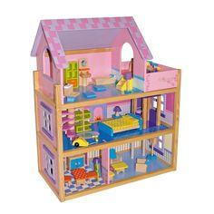 Casa de juguete de #madera de lujo #educacion #niños