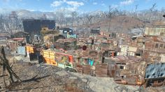 Post with 36 votes and 8374 views. Fallout Mods, Fallout New Vegas, Fallout 4 Settlement Ideas, Post Apocalyptic Art, Post Apocalypse, Purple Wallpaper, North America, Fantasy Art, City Photo