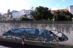 street art by Hazul Luzah (Porto, Portugal)
