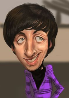 Caricatures and cartoons. Cartoon Faces, Funny Faces, Cartoon Art, Cartoon Drawings, Funny Caricatures, Celebrity Caricatures, Big Bang Theory, Face Distortion, Comedy Tv Shows