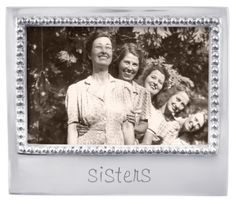 "Mariposa ""sisters"" Frame : $49  mariposa-gift.com"